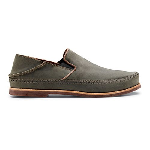 Mens OluKai Honolulu Slip-On Casual Shoe - Iron/Mustang 8