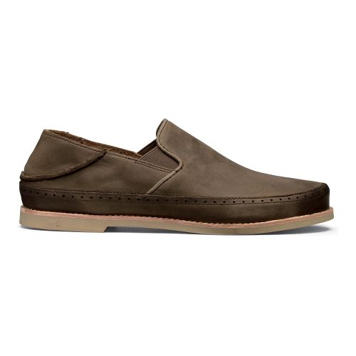 Mens OluKai Honolulu Slip-On Casual Shoe - Seal Brown/Seal Brown 14