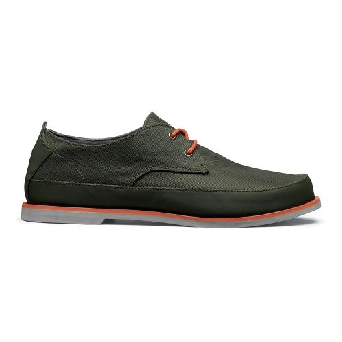 Mens OluKai Honolulu Lace Mesh Casual Shoe - Rosin/Smokey Orange 10