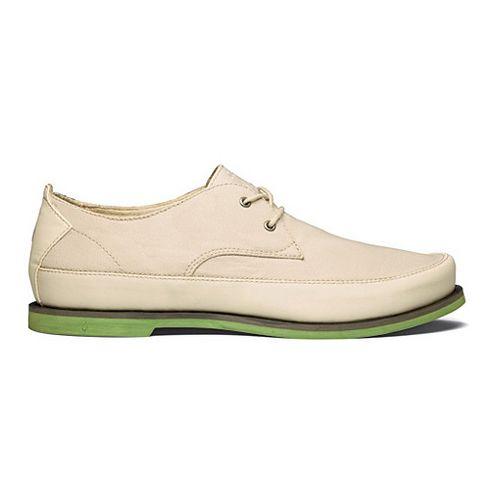 Mens OluKai Honolulu Lace Mesh Casual Shoe - Tapa/Lime Peel 13