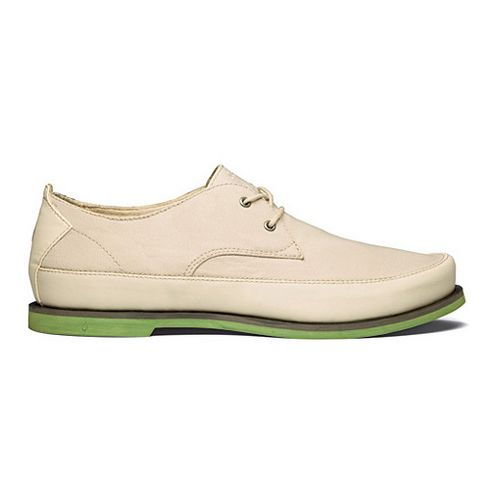 Mens OluKai Honolulu Lace Mesh Casual Shoe - Tapa/Lime Peel 9.5