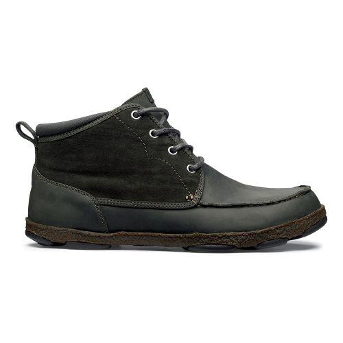 Mens OluKai Hapalua Casual Shoe - Black Olive/Black Olive 8
