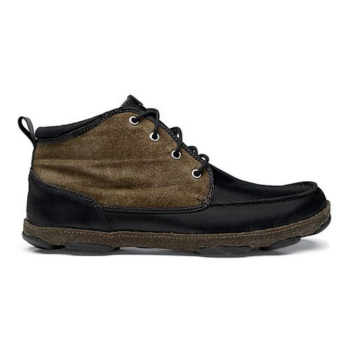 Mens OluKai Hapalua Casual Shoe - Iron/Seal Brown 13