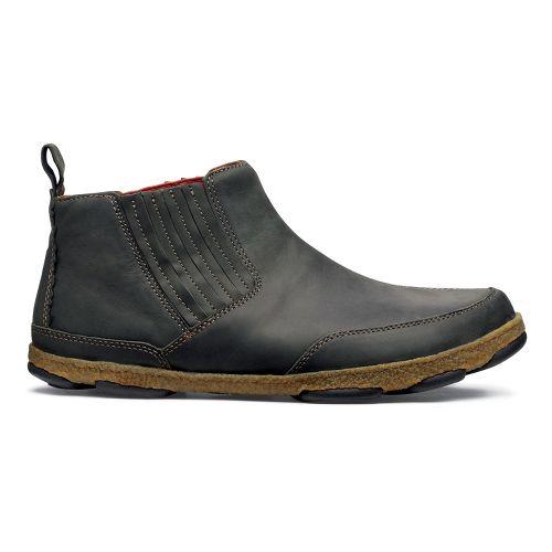 Mens OluKai Nanea Casual Shoe - Black Olive/Black Olive 14