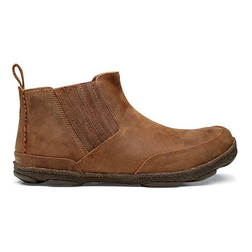 Mens OluKai Nanea Casual Shoe - Henna/Henna 10
