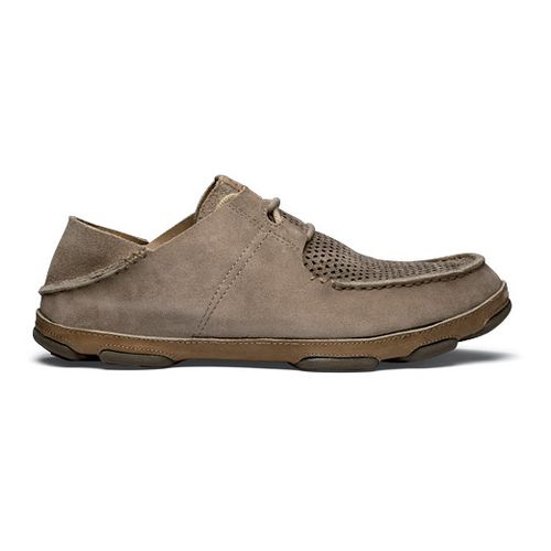 Mens OluKai Ohana Lace-Up Kohana Casual Shoe - Clay/Clay 10