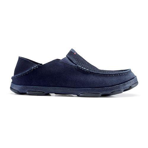 Mens OluKai Moloa Kohana Casual Shoe - Carbon/Carbon 11