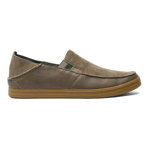 Mens OluKai Pahono Slip-On Casual Shoe - Clay/Clay 8