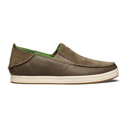 Mens OluKai Pahono Slip-On Casual Shoe - Mustang/Mustang 8