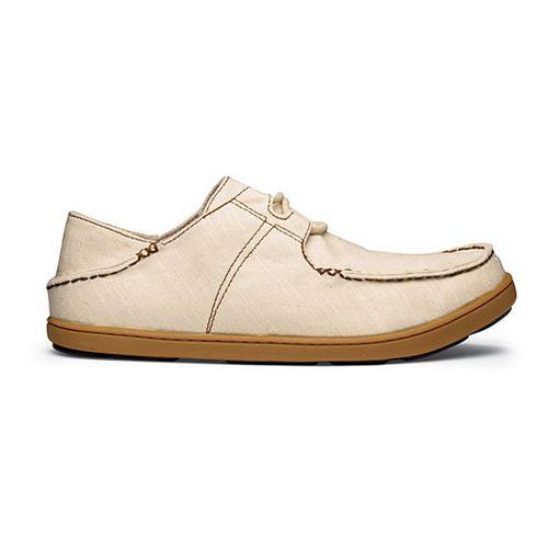 Mens OluKai Ohana Sneaker Twill Casual Shoe - Tapa/Tapa 11.5