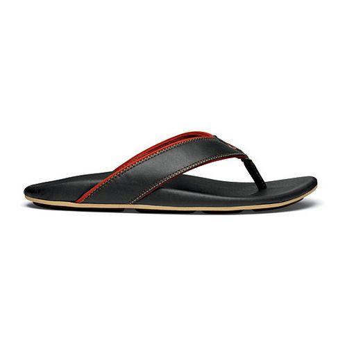 Mens OluKai Kikaha Sandals Shoe - Blue/Ember 8