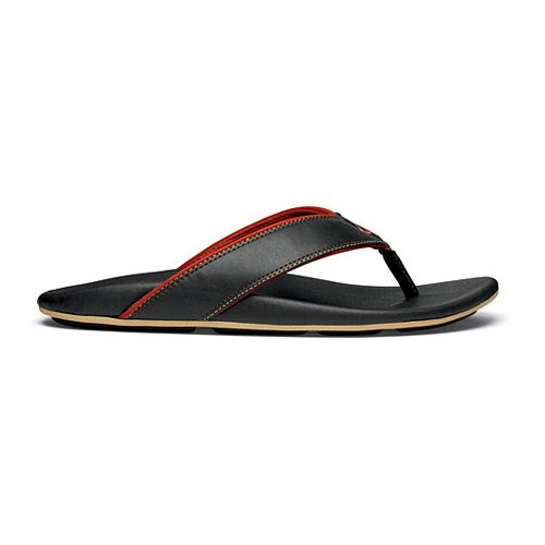 Mens OluKai Kikaha Sandals Shoe - Blue/Ember 9