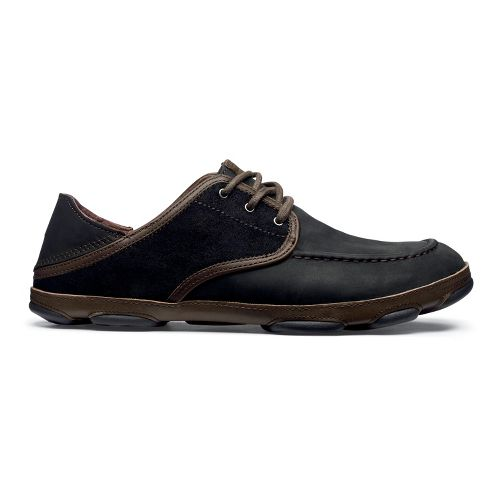 Mens OluKai Kupa'a Casual Shoe - Black/Black 14