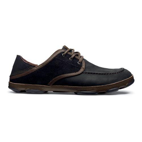 Mens OluKai Kupa'a Casual Shoe - Black/Black 8