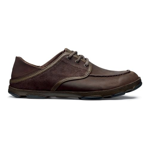 Mens OluKai Kupa'a Casual Shoe - Coffee/Coffee 8