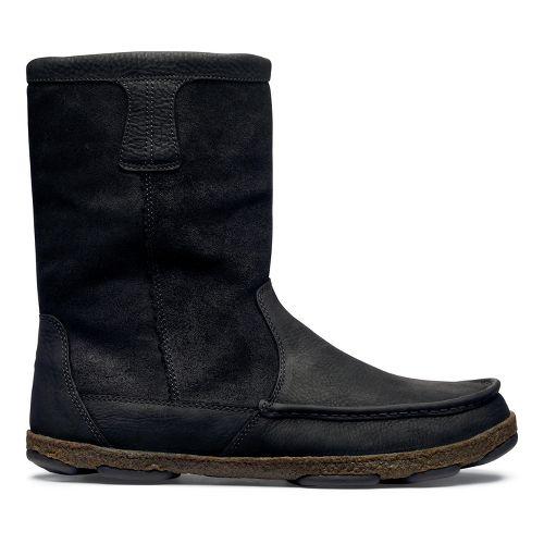 Mens OluKai Kohana Boot Casual Shoe - Black/Black 12