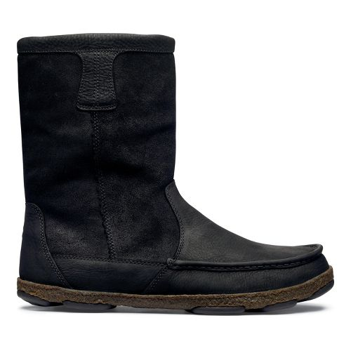 Mens OluKai Kohana Boot Casual Shoe - Black/Black 14
