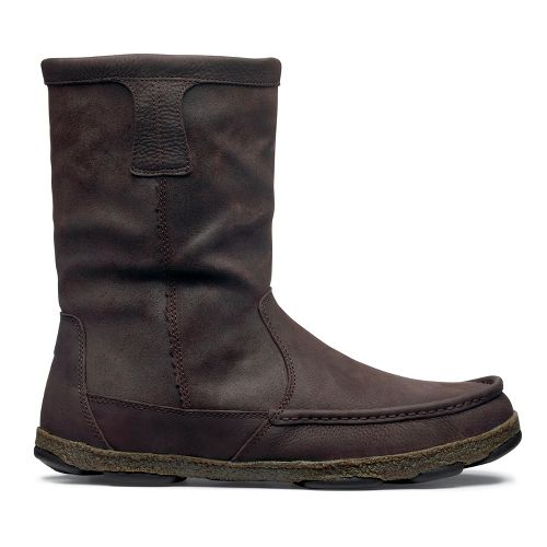 Mens OluKai Kohana Boot Casual Shoe - Coffee/Coffee 14