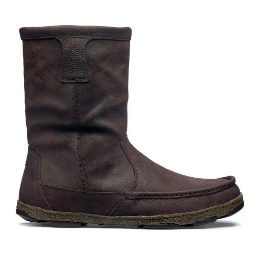 Mens OluKai Kohana Boot Casual Shoe - Coffee/Coffee 8