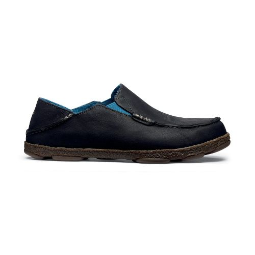 Mens OluKai Moloa Kohana Fall Casual Shoe - Black/Black 7