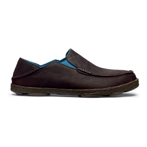 Mens OluKai Moloa Kohana Fall Casual Shoe - Coffee/Coffee 8