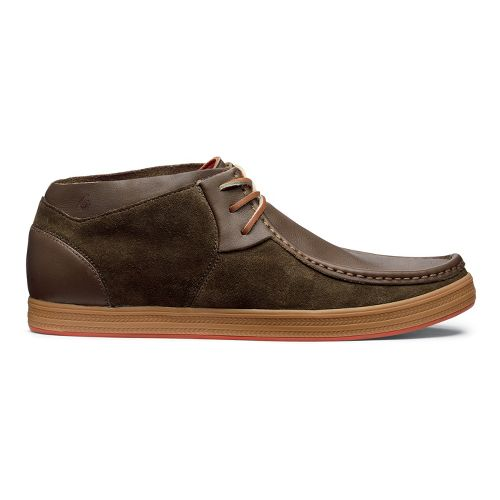 Mens OluKai Pahono Mid Casual Shoe - Seal Brown/Seal Brown 11.5