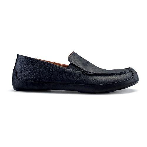 Mens OluKai Akepa Moc Casual Shoe - Onyx/Onyx 10.5