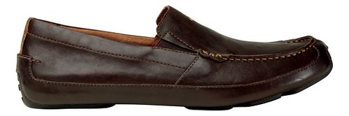 Mens OluKai Akepa Moc Casual Shoe - Chocolate/Chocolate 8.5