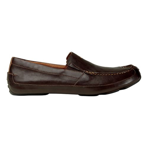 Mens OluKai Akepa Moc Casual Shoe - Chocolate/Chocolate 8.5