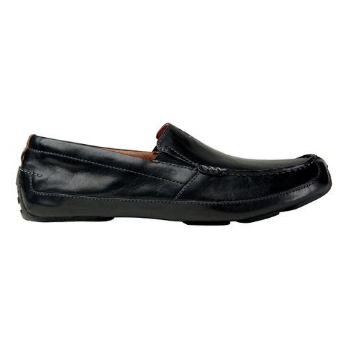 Mens OluKai Akepa Moc Casual Shoe - Nero/Nero 14