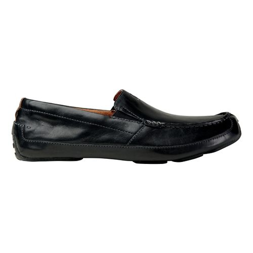 Mens OluKai Akepa Moc Casual Shoe - Nero/Nero 8.5