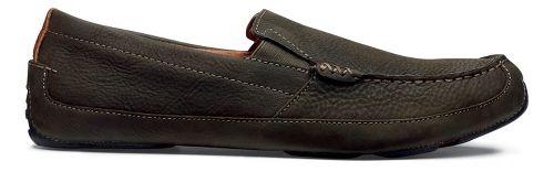 Mens OluKai Akepa Moc Casual Shoe - Seal Brown/Seal Brown 10.5