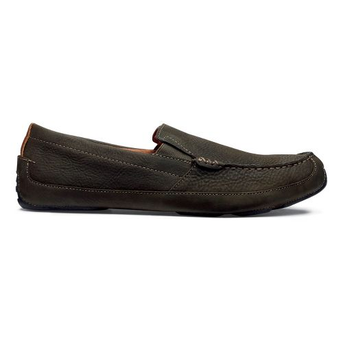 Mens OluKai Akepa Moc Casual Shoe - Seal Brown/Seal Brown 9.5