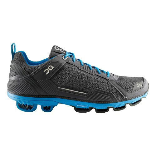 Mens On Cloudrunner 2 Running Shoe - Anthracite/Blue 8.5