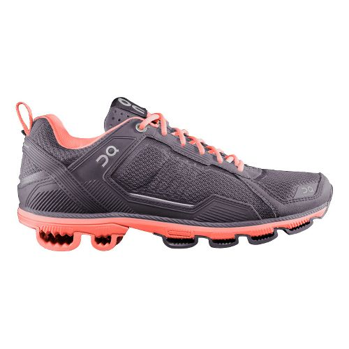 Womens On Cloudrunner 2 Running Shoe - Grey/Salmon 7