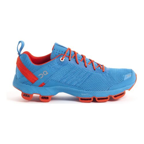 Mens On Cloudsurfer 2 Running Shoe - Blue/Orange 10.5