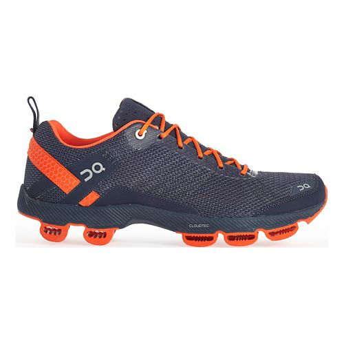 Mens On Cloudsurfer 2 Running Shoe - Dark Gray/Orange 9.5