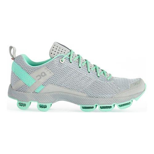 Womens On Cloudsurfer 2 Running Shoe - Gray/Mint 8