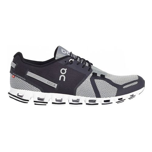Mens On Cloud Running Shoe - Black/Grey 10.5