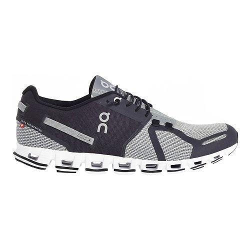 Mens On Cloud Running Shoe - Black/Grey 9.5