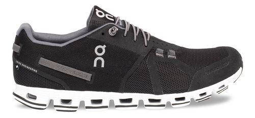 Mens On Cloud Running Shoe - Black/White 8.5