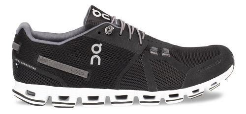 Mens On Cloud Running Shoe - Black/White 9.5