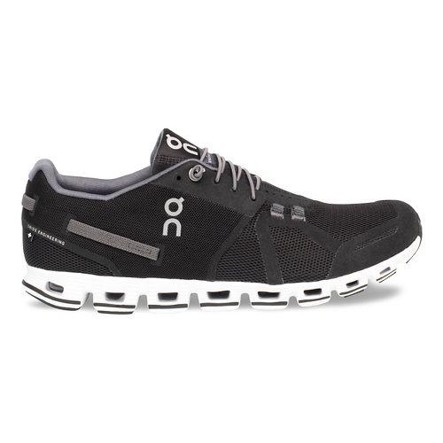 Mens On Cloud Running Shoe - Black/White 11