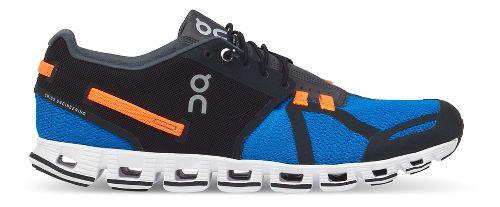 Mens On Cloud Running Shoe - Black/Blue 7.5