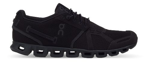 Mens On Cloud Running Shoe - Black/Black 12