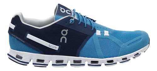 Mens On Cloud Running Shoe - Blue/Denim 7.5