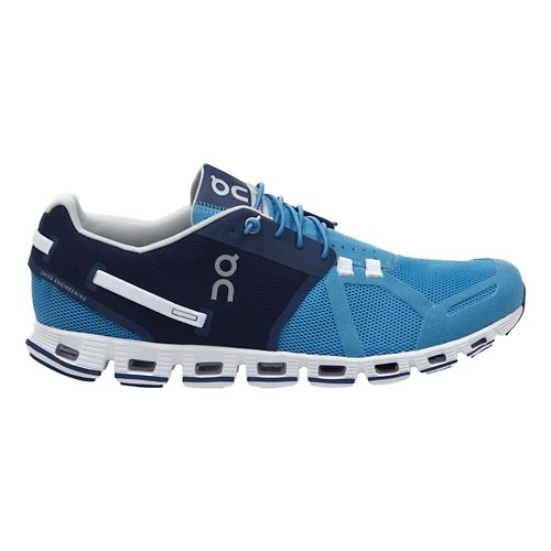 Mens On Cloud Running Shoe - Blue/Denim 9.5