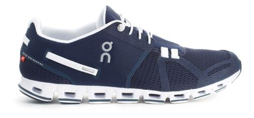 Mens On Cloud Running Shoe - Navy/White 7