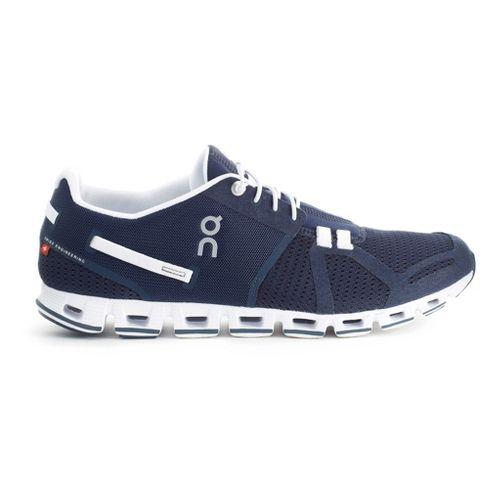 Mens On Cloud Running Shoe - Navy/White 7.5