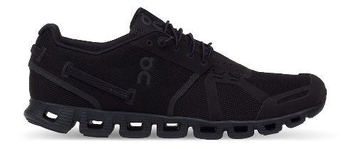 Womens On Cloud Running Shoe - Black/Black 10